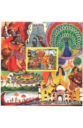INDIA 2016 Vibrant India Souvenir Sheet, MNH