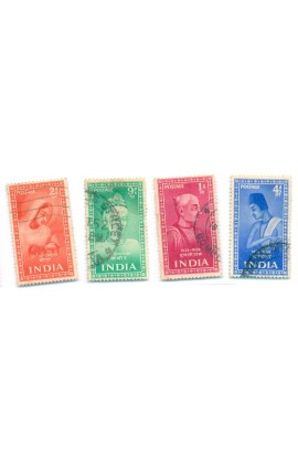 Indian-4 Diff. Used Good Set Year of 1952
