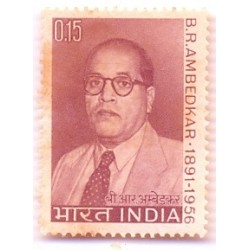 INDIA STAMP  428-A Dr. B R Ambedkar 1966 MNH