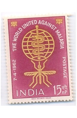 India 1962 World United Against Malaria  MNH