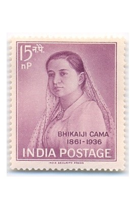 PHILA366 INDIA 1962 SINGLE MINT STAMP OF MADAM BHIKAIJI CAMA MNH