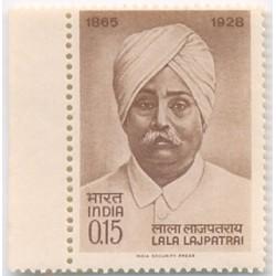 PHILA412 INDIA 1965 SINGLE MINT STAMP OF LALA LAJPAT RAI MNH
