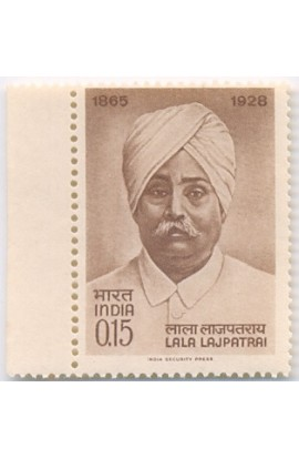 PHILA412 INDIA 1965 SINGLE MINT STAMP OF LALA LAJPAT RAI MNH