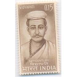 PHILA423 INDIA 1965 SINGLE MINT STAMP OF VIDYAPATI THAKUR MNH