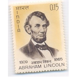 PHILA415 INDIA 1965 SINGLE MINT STAMP OF ABRAHAM LINCOLN MNH