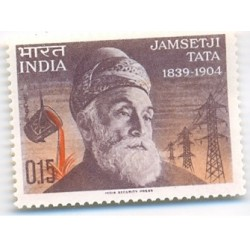 PHILA411 INDIA 1965 SINGLE MINT STAMP OF JAMSETJI NUSSERWANJI TATA MNH