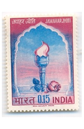India 1965 Jawahar Jyoti Nehru's Death Anni. Phila-417 MNH