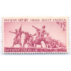 INDIA STAMP  451 Quit India Movement 1967 MNH