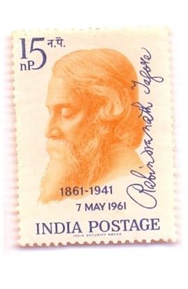 PHILA355 INDIA 1961 RABINDRANATH TAGORE MNH