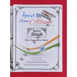 Indian Convention States Stamp Album