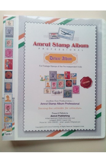 Postage Stamps of the Pre - Independent India Album